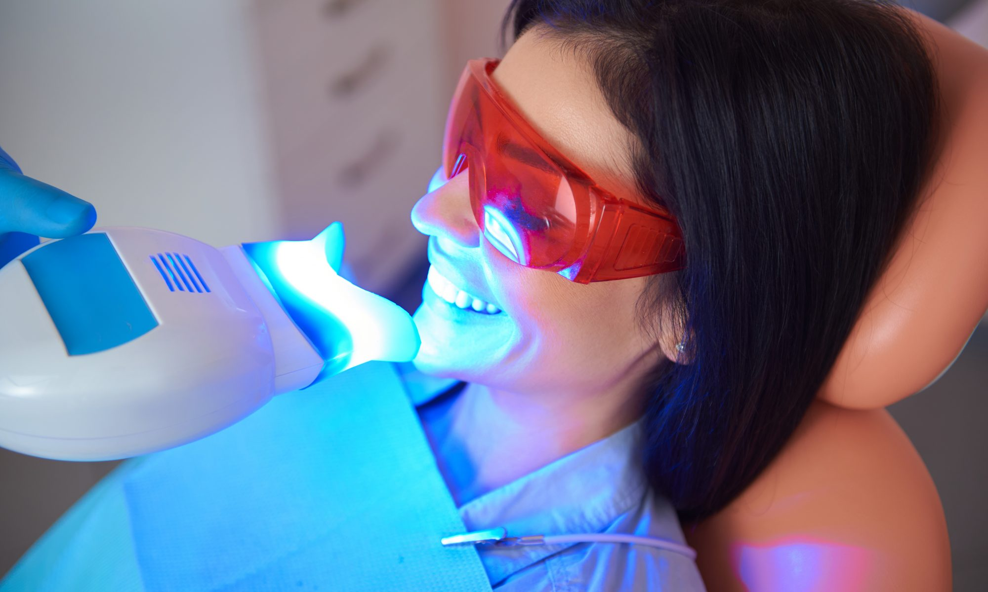 professional teeth whitening with Zoom